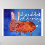 Rabbit of Destiny [poster] Poster