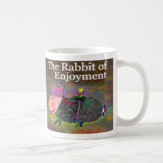 Rabbit of Enjoyment [mug] Classic White Coffee Mug