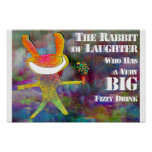 Rabbit of Laughter [poster] Poster