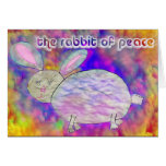 Rabbit of Peace [card] Greeting Card