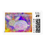 Rabbit of Peace [postage] Stamp