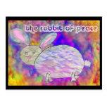 Rabbit of Peace [postcard] Postcard