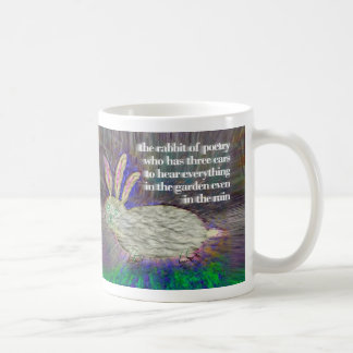Rabbit of Poetry [mug]