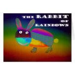 Rabbit of Rainbows [card] Greeting Card