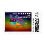 Rabbit of Rainbows [postage]