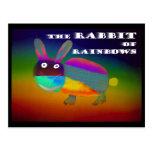 Rabbit of Rainbows [postcard] Postcard