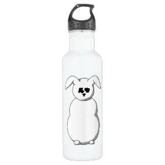 Rabbit of Snow, Cartoon. Water Bottle