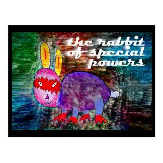 Rabbit of Special Powers [postcard] Postcard