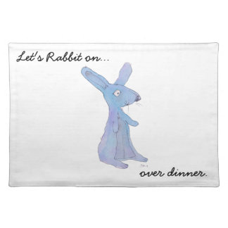 Rabbit On... Products Cloth Placemat