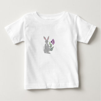 rabbit on variety of products tee shirt