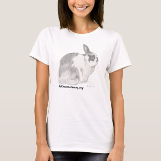Rabbit Pencil Art T-Shirt