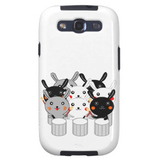 Rabbit percussion instrument Rabbit percussion Cor Samsung Galaxy S3 Covers