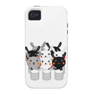 Rabbit percussion instrument Rabbit percussion Cor Vibe iPhone 4 Covers
