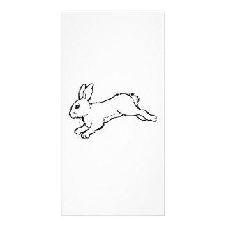 Rabbit Personalized Photo Card