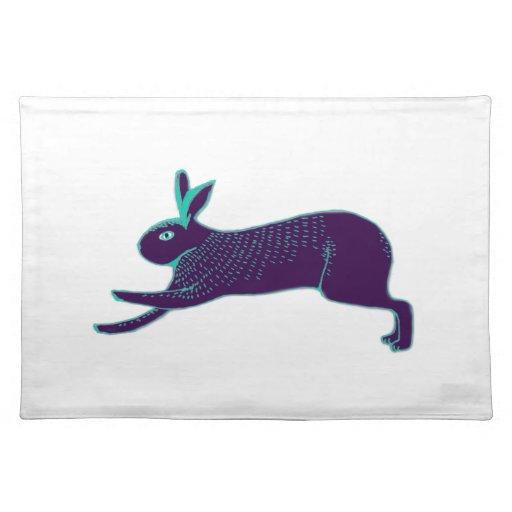 rabbit placemat