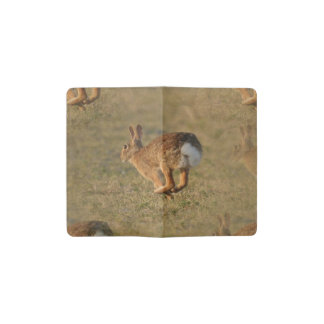 Rabbit Pocket Moleskine Notebook Cover With Notebook