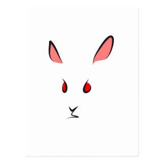 """Rabbit"" Postcard"