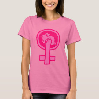 Rabbit Power! (pink) Official Susan Ash-Lee T-Shirt