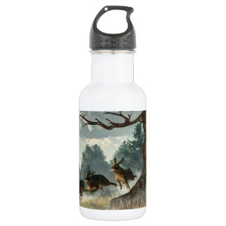 Rabbit Race 18oz Water Bottle