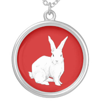 Rabbit red Necklace
