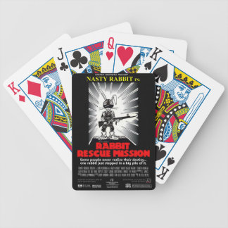 Rabbit Rescue Mission movie poster card deck