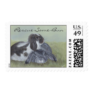 Rabbit Rescue Postage
