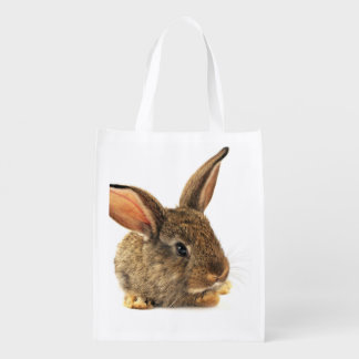 Rabbit Reusable Grocery Bag
