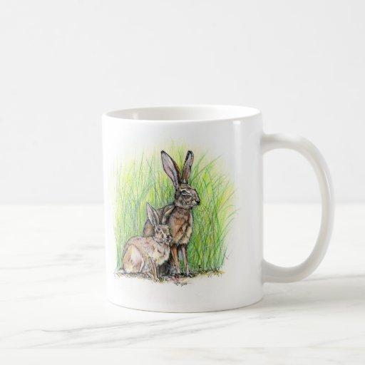 Rabbit Royalty Classic White Coffee Mug