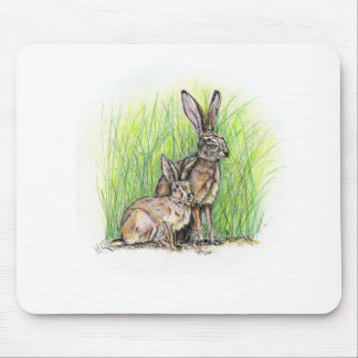 Rabbit Royalty Mouse Pad