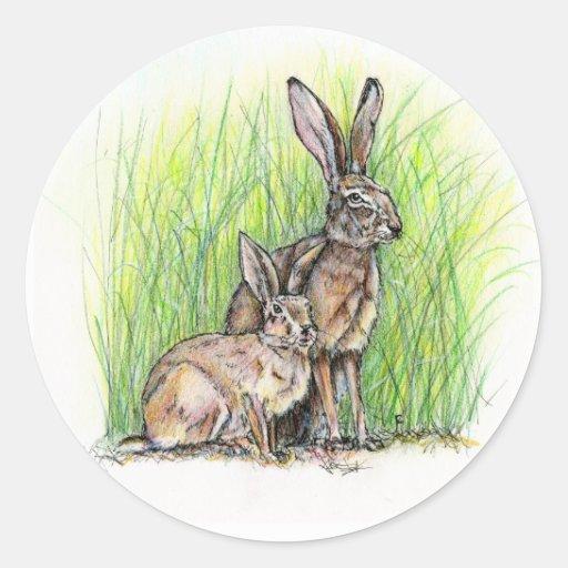 Rabbit Royalty Sticker