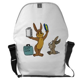 Rabbit Salesman Courier Bags