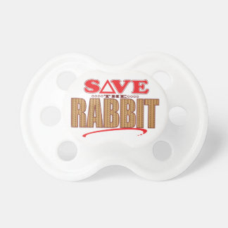 Rabbit Save Pacifier