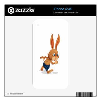 Rabbit iPhone 4 Decals