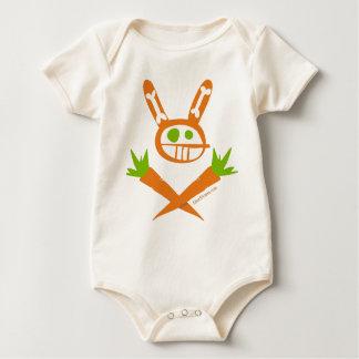 Rabbit Skull Baby Bodysuit