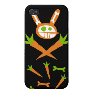 Rabbit Skull Case For iPhone 4