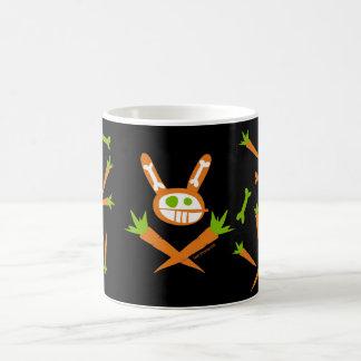 Rabbit Skull Classic White Coffee Mug