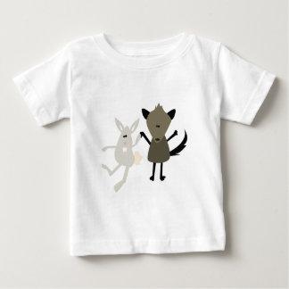 Rabbit & Skunk Baby T-Shirt