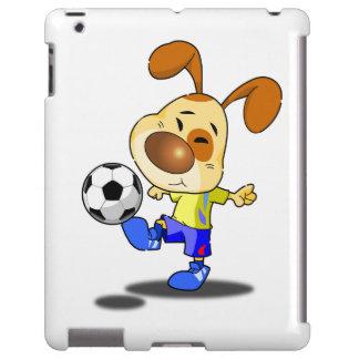 Rabbit Soccer Kick iPad Case