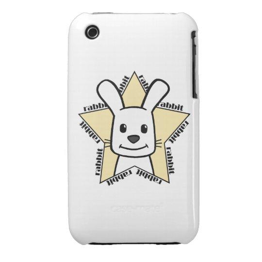 Rabbit Star iPhone 3 Case-Mate Case