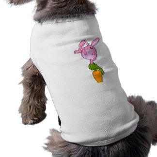 Rabbit Stunt Carrot Pet Shirt