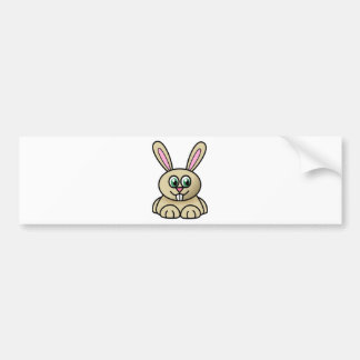 Rabbit Style Car Bumper Sticker