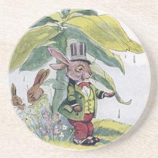 Rabbit Testing for Raindrops Coasters