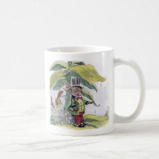 Rabbit Testing for Raindrops Coffee Mug