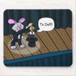 Rabbit Trick Mouse Pad