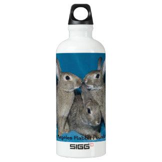 Rabbit Trio Aluminum Water Bottle