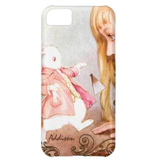 Rabbit Vintage Alice In Wonderland iPhone 5 Case For iPhone 5C