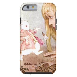Rabbit Vintage Alice In Wonderland iPhone 6 Case