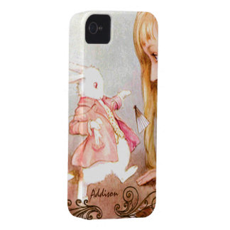 Rabbit Vintage Alice In Wonderland iPhone iPhone 4 Cover