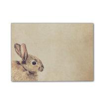 Rabbit Watercolor Sketch Post-it® Notes