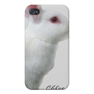 Rabbit White iPhone 4/4S Case